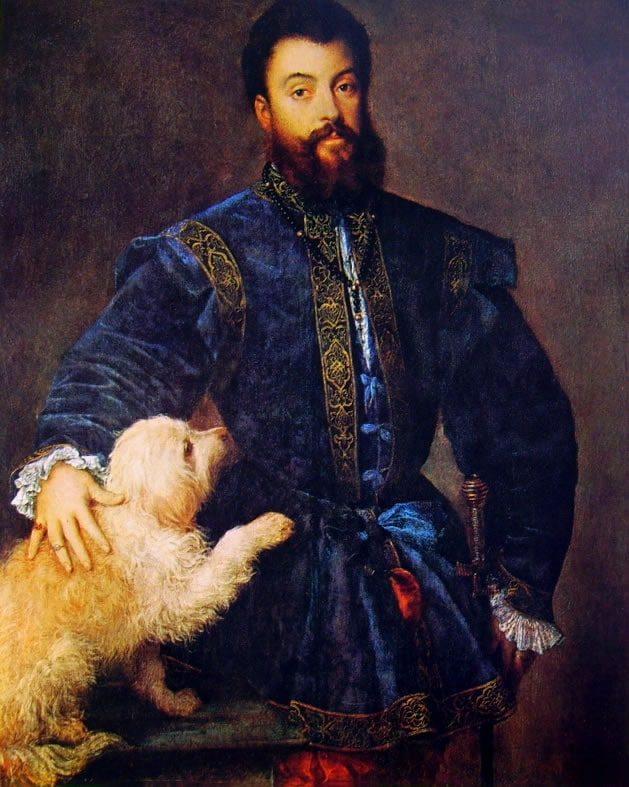 1529 portrait of Federico II Gonzaga, Duke of Mantua